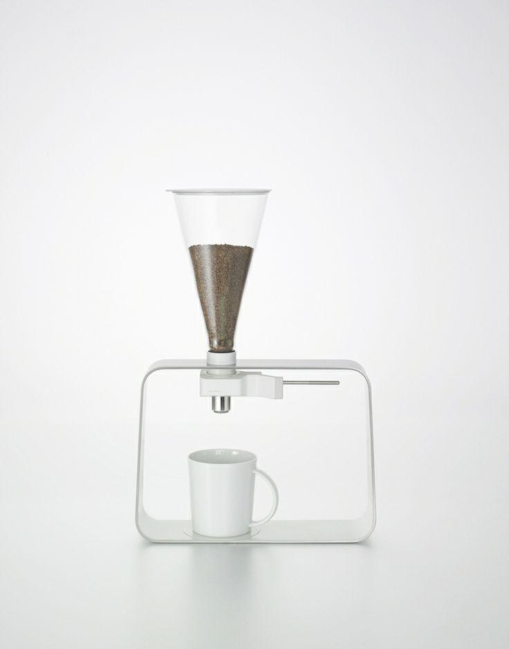 Instant Coffee Dispenser   kitchenware . Küchengeschirr . battie de cuisine   Design: Iwasaki Design Studio  