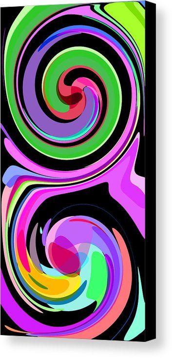 Minimalist 5 Canvas Print by Chris Butler.  #abstract #art #artdeco #design #interior #home #Decor #wall #modern #contemporary #homedecor #abstractart #interiordesign #vibrant #vivid #designer #minimalist #minimalism