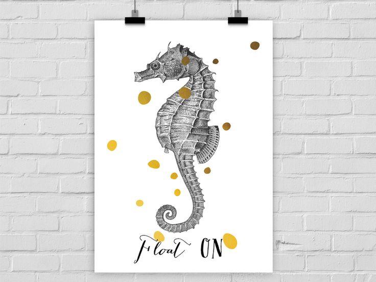 Kunstdruck FLOAT ON von Prints Eisenherz auf DaWanda.com