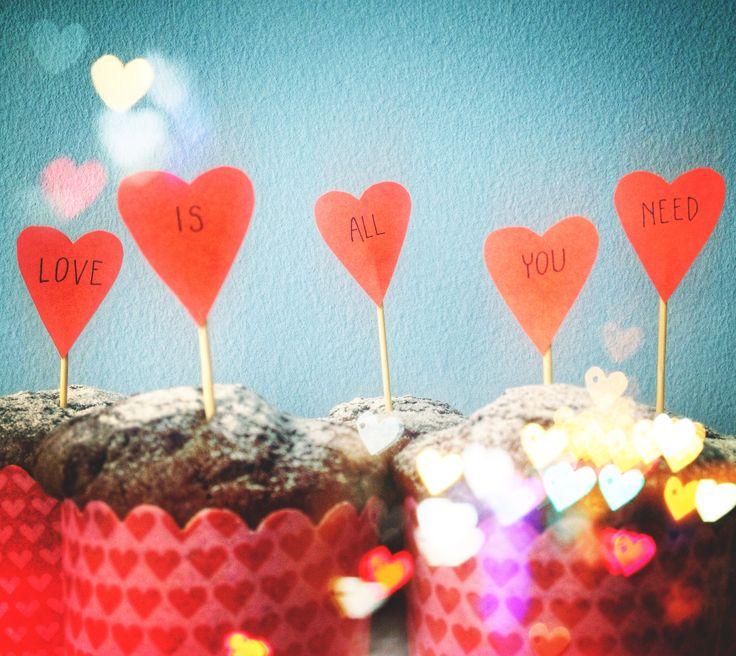 Muffin al cacao e cannella di San Valentino - Love is all you need <3