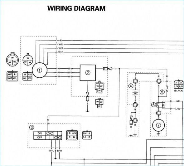 2004 Yamaha Warrior 350 Wiring Diagram   Diagram, Garage workshop plans,  WirePinterest