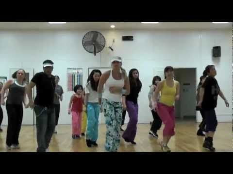 """▶ """"GIVE ME EVERYTHING"""" by Pitbull - Choreography by Lauren Fitz for Dance Fitness - YouTube"""