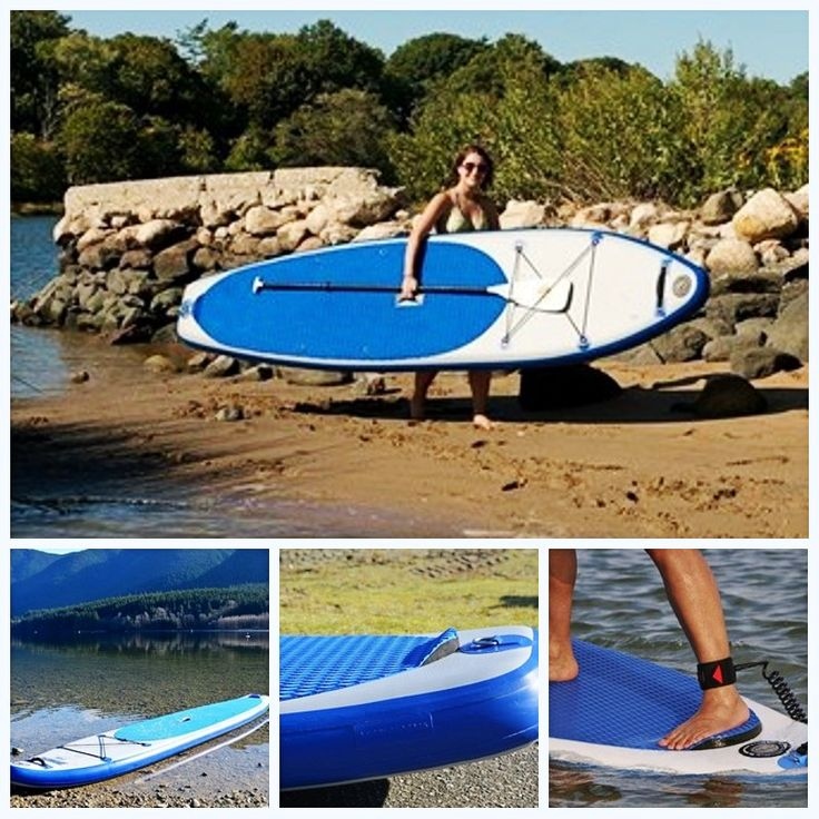 Customized water surfing board/white&blue stand up paddle boards/surfboard #Affiliate
