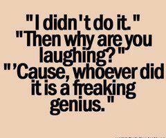always happens...