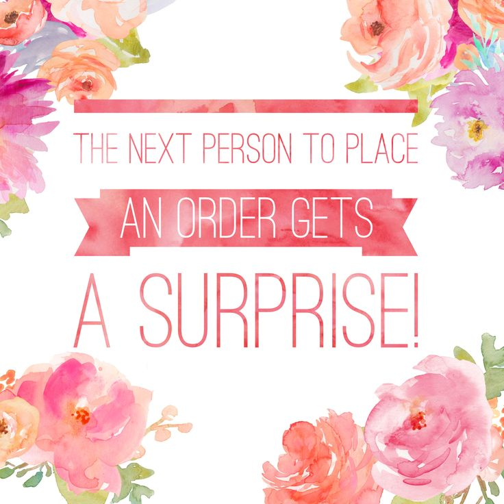 The Next Person to Place an Order Gets a Surprise >> katiedoolin.scentsy.us