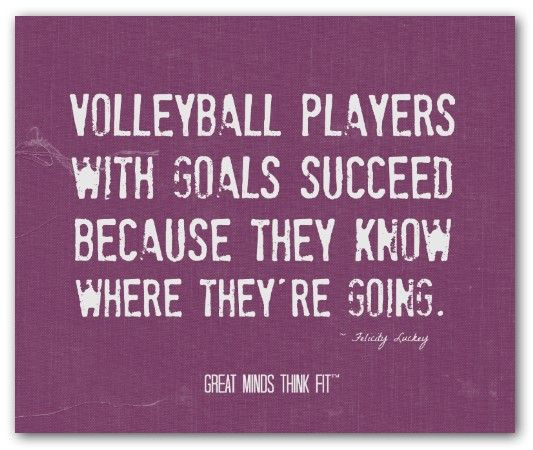 Volleyball Quotes. QuotesGram by @quotesgram