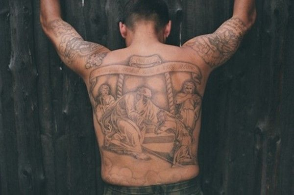 111 Scandalous Prison Tattoos And Their Meanings - Watch at your own risk nice