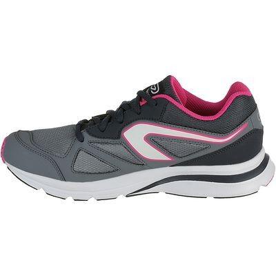 Scarpe running Running - Scarpe running EKIDEN ACTIVE donna grigio-rosa KALENJI - Scarpe running