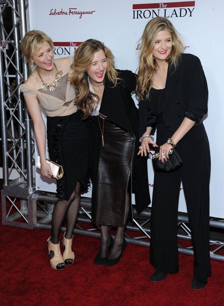 Last night's premiere of Meryl Streep's