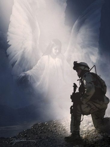 Leave Me Not Alone to Fight | Troops ,Our Heros | Pinterest | Angel, Guardian angels and Lord