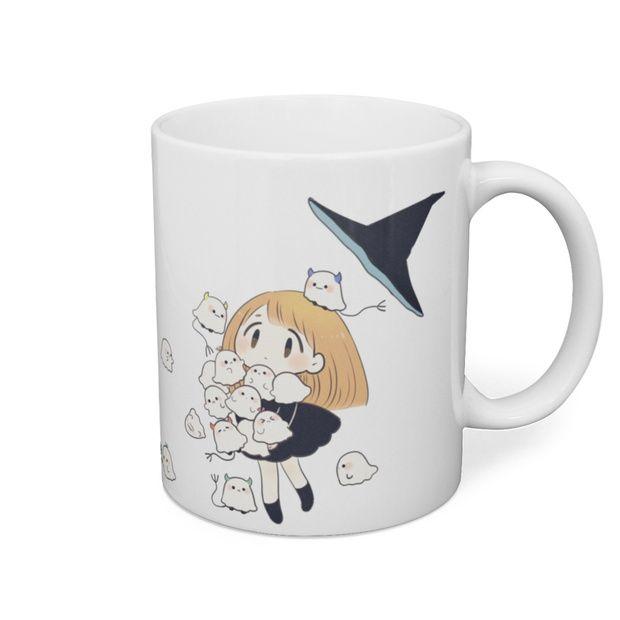 魔女とおばけちゃんマグカップ - 鮎 - BOOTH(同人誌通販・ダウンロード)