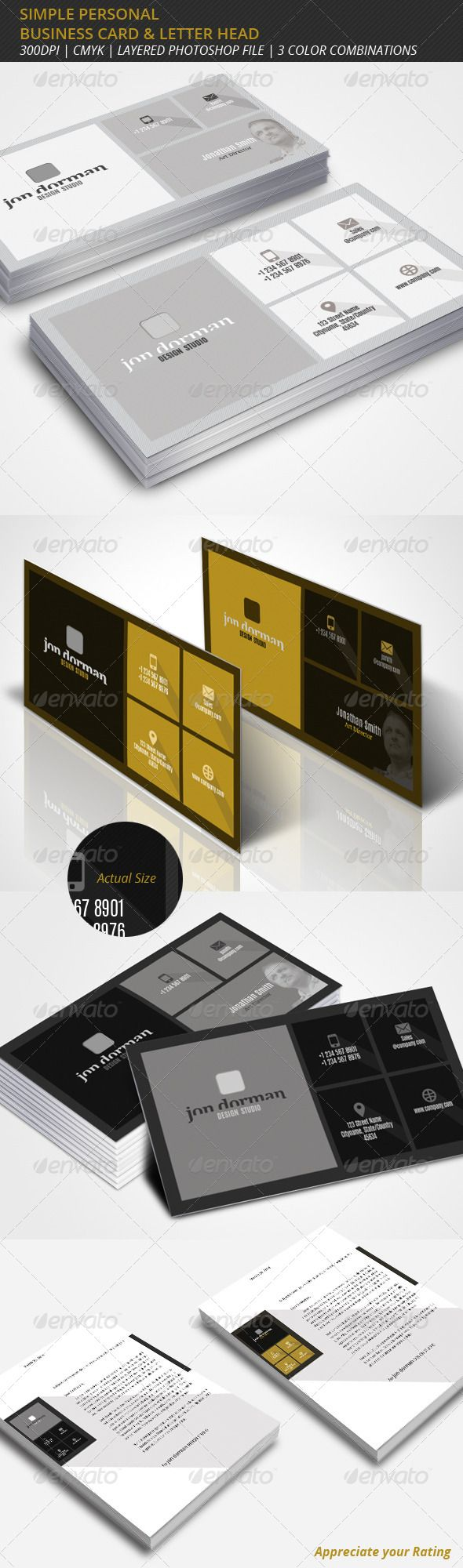 The 25 best professional business cards ideas on pinterest simple professional business card letterhead magicingreecefo Images
