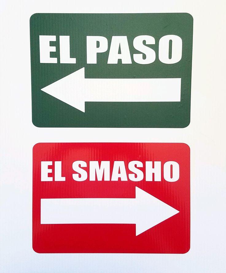 El paso el smasho stickers
