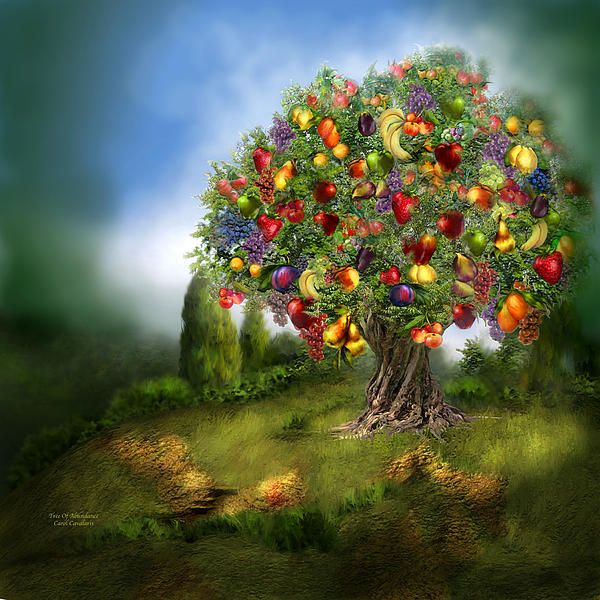 17 best images about fantasy art on pinterest canvas prints freedom and fantasy paintings - Fruit trees every type weather area ...