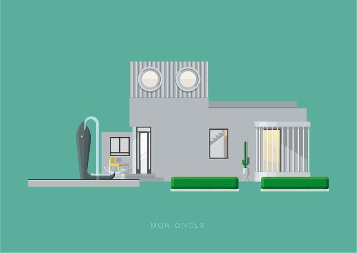 Frederico Birchal, Mon Oncle, Famous Movies & TV Shows Setting, 2015