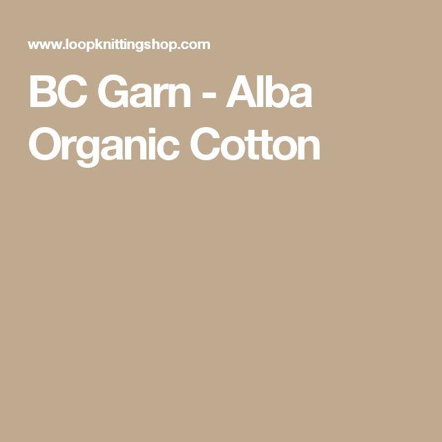 BC Garn - Alba Organic Cotton