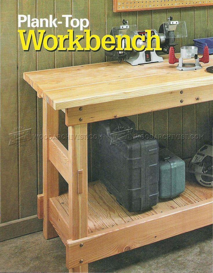#2450 Heavy Duty Workbench Plans - Workshop Solutions