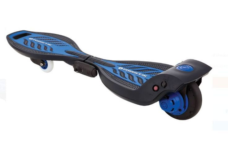 Skateboard Scooter Electric Caster Board Cool Toy Outdoors Black Blue Gift #Razor