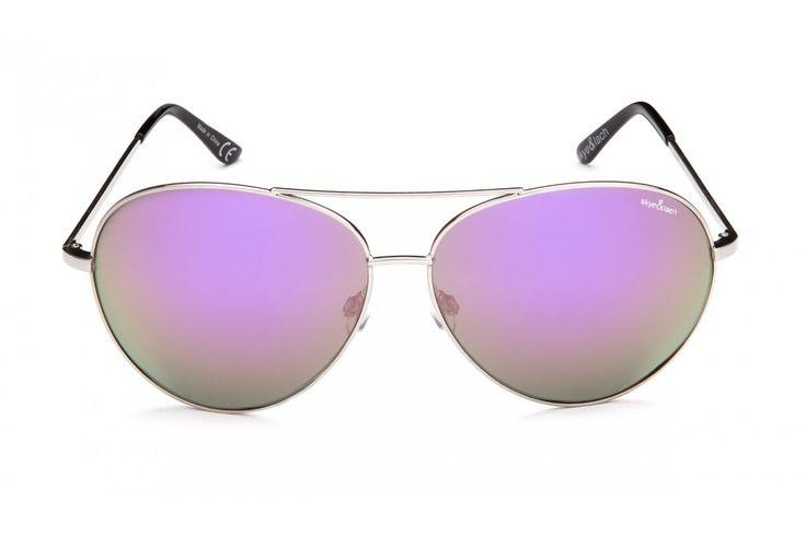 MINX Silver Lavender   Oversized Aviator   Skye & Lach Eyewear