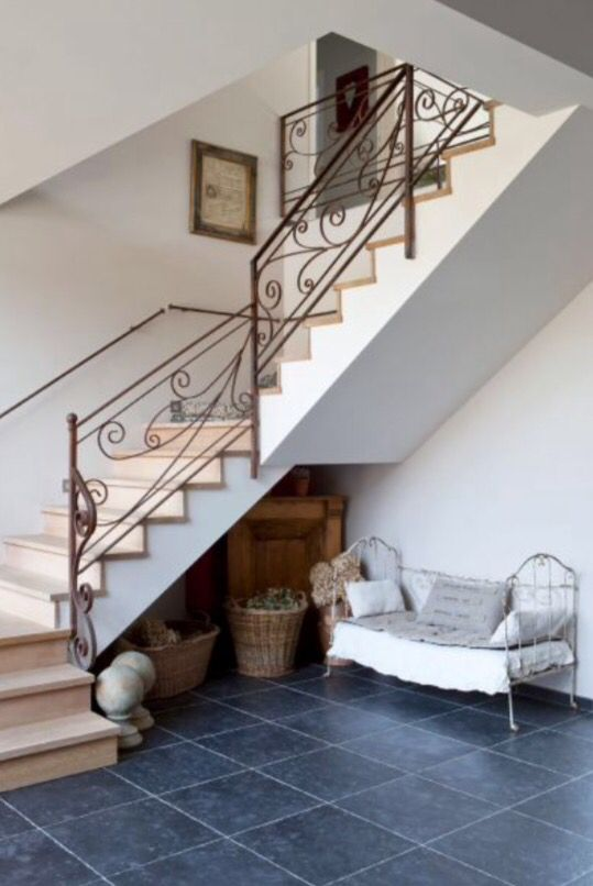 """This wonderful staircase is from our feature """"Room Service"""""""