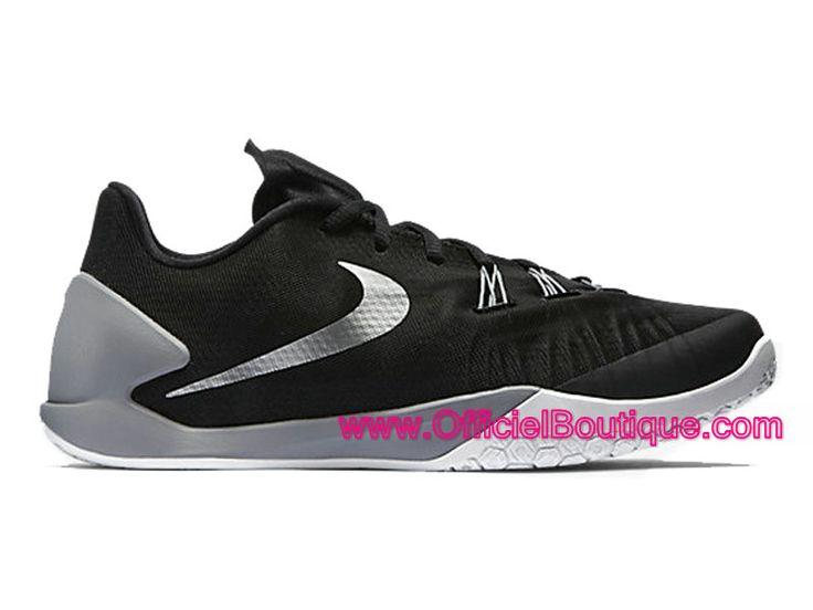 Chaussures Nike Baskets Pas Cher Pour Homme Officiel Nike HyperChase (James Harden) Noir/Gris loup-Blanc-Argent métallique 705363-002