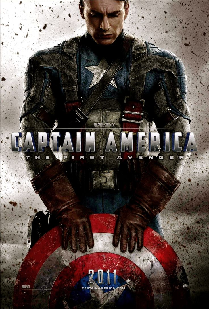 Captain America - The First Avenger. I can't pretend that I don't absolutely ADORE marvel. And Chris Evans.