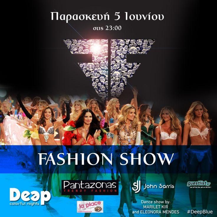 #FashionShow #DeepBlue