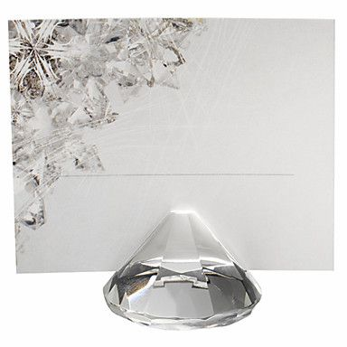 Diamond+Shaped+Place+Card+Holders+(Set+of+4)+–+US$+9.29