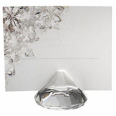 segnaposti e titolari possessori di carta posto a forma di diamante scanalatura 1 millimetro di larghezza – EUR € 1.42