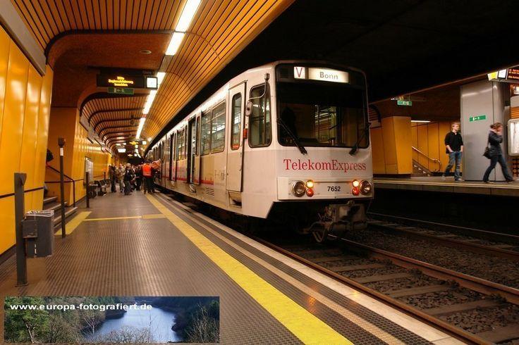 7652 Bonn Ramersdorf 15.05.2010 - wegen der Bauarbeiten an der Heussallee fuhr die 66 nur vom Olof-Palme-Platz bis nach Ramersdorf, dort gab es Anschluss an die Züge von Bonn Hbf über Beuel Bahnhof nach Bad Honnef