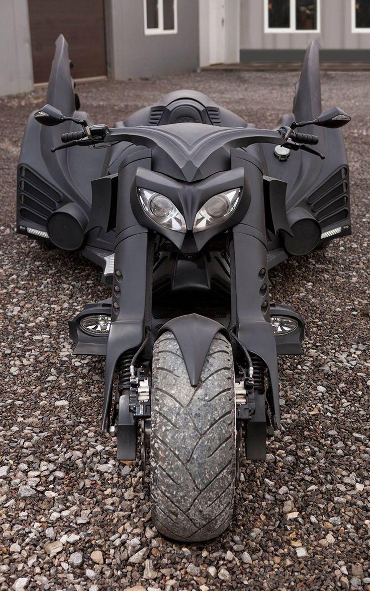 A Custom Trike Batman MotorcycleMatt Hill