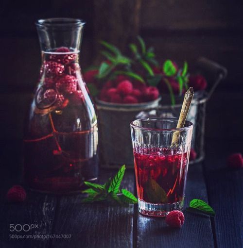 Raspberry and Mint Summer Drink by AngelikaSorkina  IFTTT 500px