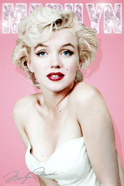 GBEYE Maxi Poster - Marilyn Monroe Diamond - MAXI POSTER - BunlardanIstiyorum.com