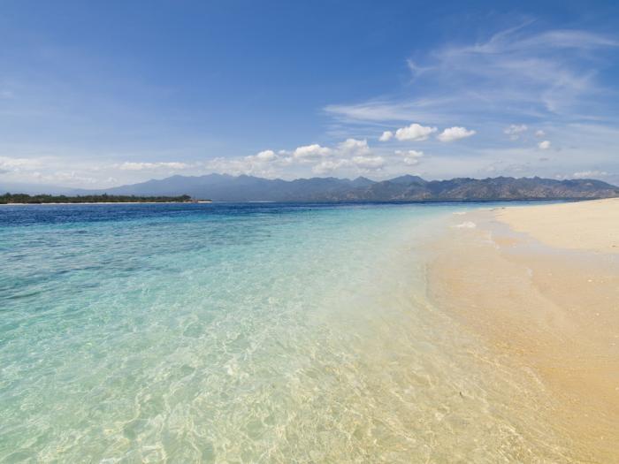 Lombok Beach, Indonesia.