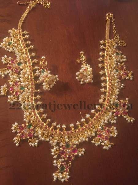 Imitation Guttpusalu Necklaces Looks Original