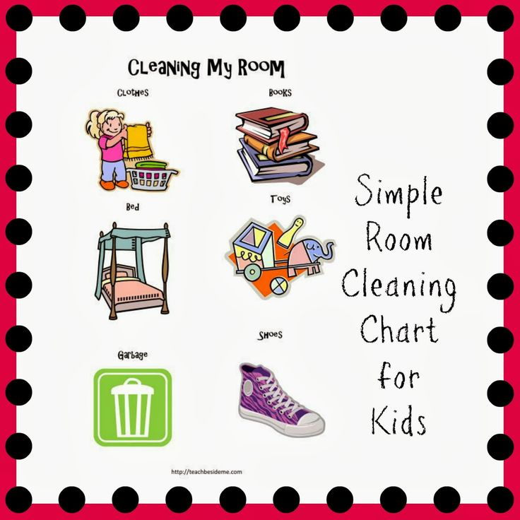 Kids cleaning room clipart - photo#7