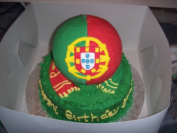 Portugal soccer ball.