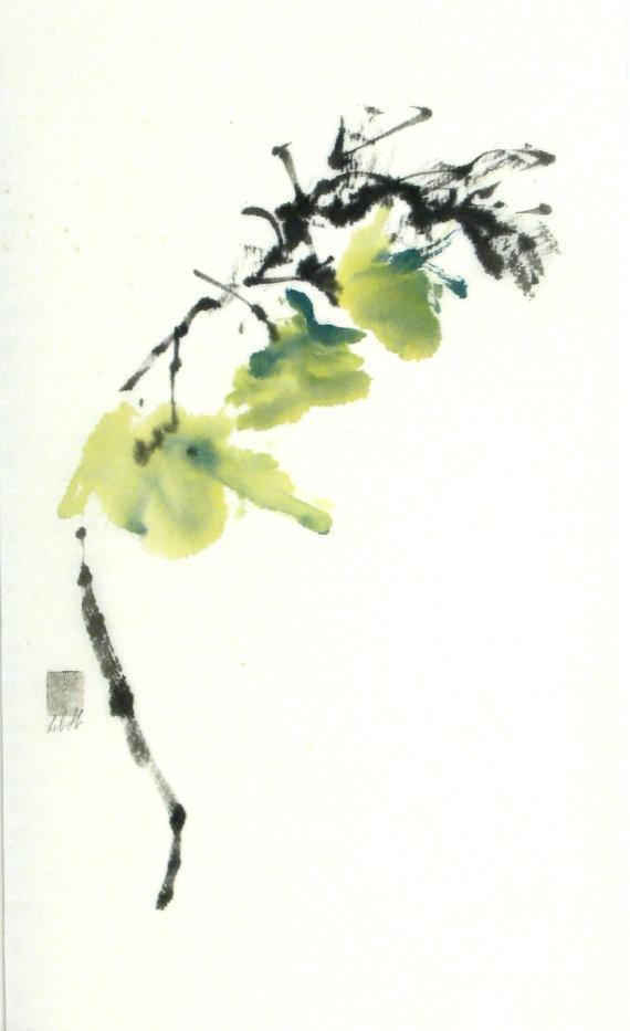 """""""Just A Breath""""   Sumi-e    www.lilithohan.com  Sold"""