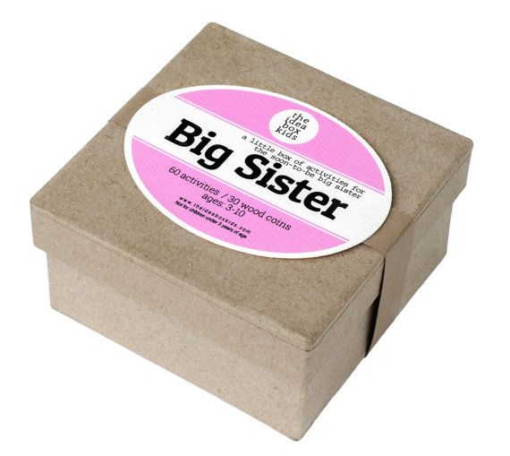 Hey, I found this really awesome Etsy listing at https://www.etsy.com/listing/198862370/big-sister-activities-gift-for-big
