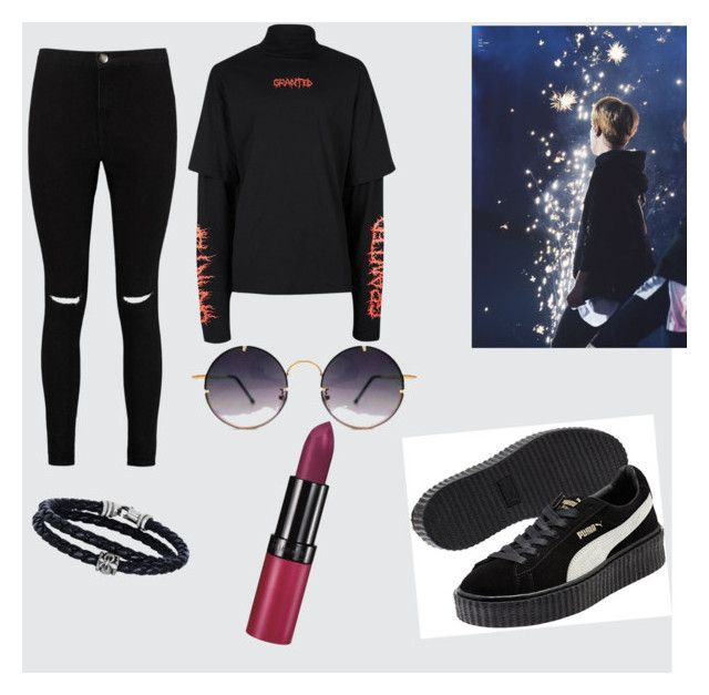 """""""🕶"""" by stacyk01 on Polyvore featuring мода, Topman, Boohoo, Spitfire, Phillip Gavriel и Rimmel"""