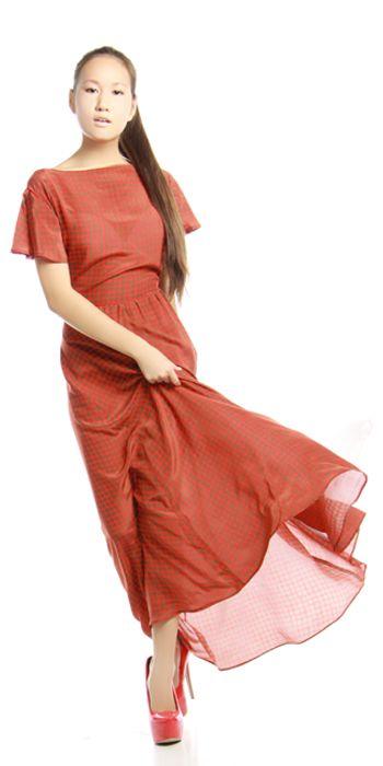 Изделие: Роскошное летнее платье. Материал: Мокрый шелк.