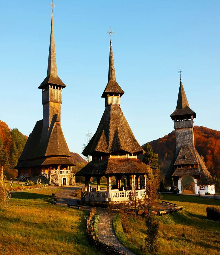 Romania Travel Inspiration - Barsana Wooden Monasteries, Maramures, Romania    |   Discover Amazing Romania through 44 Spectacular Photos