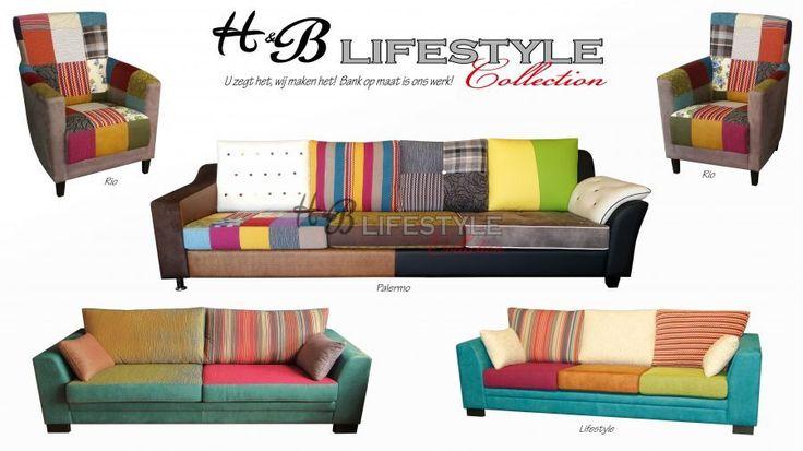 Patchwork fauteuil - HB Lifestyle Collection #patchwork #kleurenstoel #eigenontwerp #zitmeubel #stoelsamenstellen #quilt #interieurspecialist #kleurrijkestoel #kleurenfauteuil #kleurrijkebanken #banksamenstellen #kleurenbank