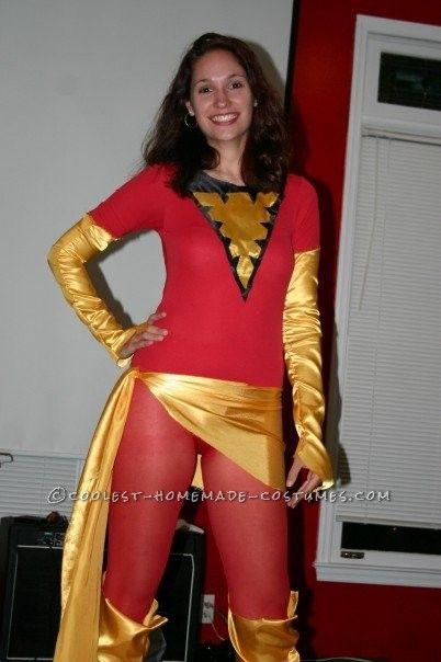 coolest homemade dark phoenix costume from x men - Halloween Costumes In Phoenix