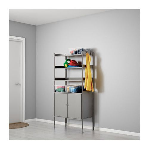 HINDÖ Shelf unit w/cabinet, in/outdoor  - IKEA | Width: 30 3/4 "