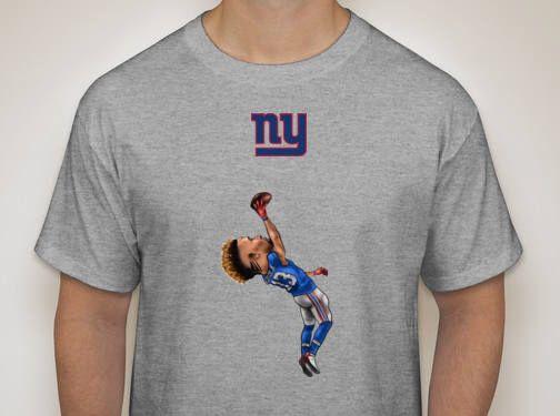 New York Giants Football NFL Odell Beckham Jr. 1 Handed catch Jets Mets yankees by CustomsByJayMo on Etsy https://www.etsy.com/listing/540805254/new-york-giants-football-nfl-odell