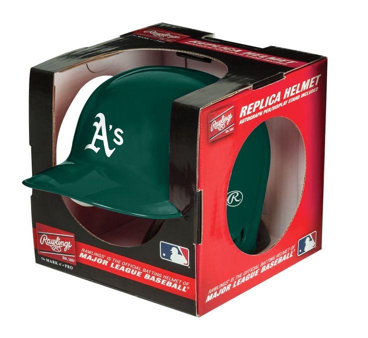 Oakland Athletics Batting Helmet Replica Mini