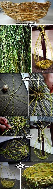 Basic willow weaving