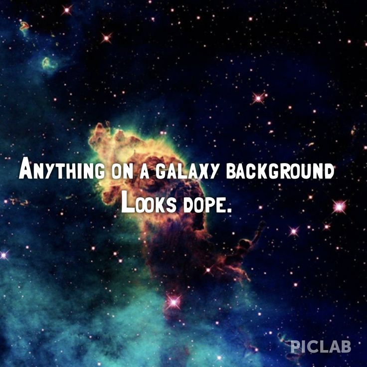 galaxy background tumblr quotes - photo #35