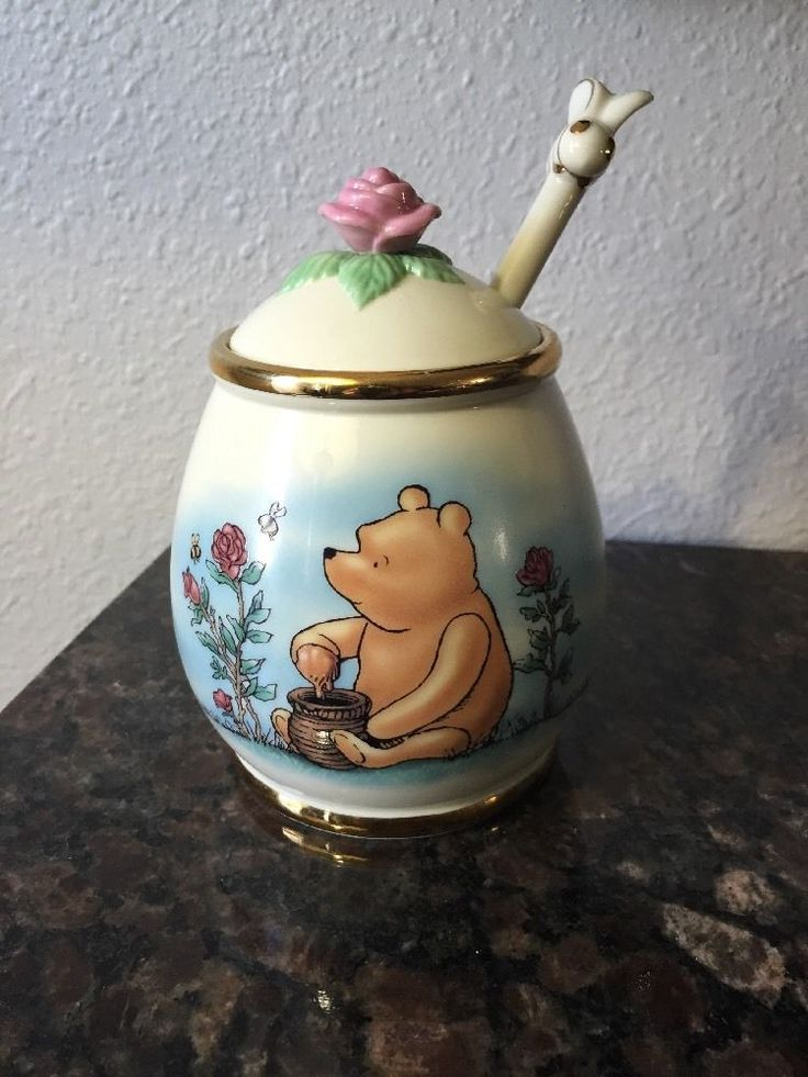 Winnie The Pooh Classic Pooh Honey Pot By Lenox